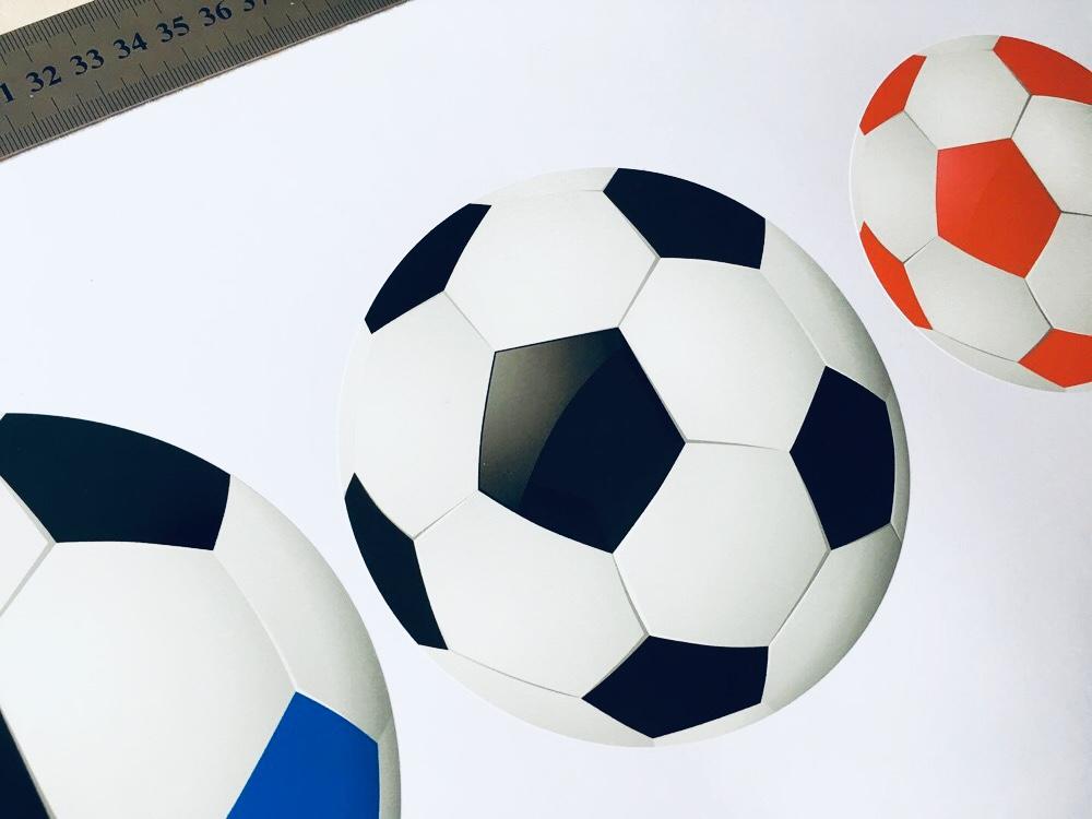 Наклейки в интерьер футбольному фанату